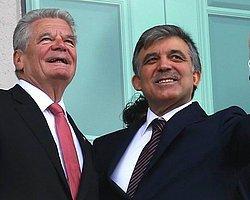 Cumhurbaşkanı Gül ile Gauck ortak basın toplantısı düzenledi