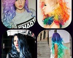 Sizde Böyle Durmayacağını Bildiğiniz İlginç Saç Renkleri
