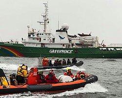 Greenpeace Üyelerine Polis Müdahalesi