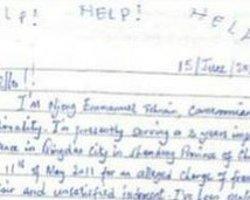 Çantadan Çin'deki Mahkumun Mektubu Çıktı