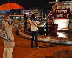 00.10 | Taksim Meydanı açıldı