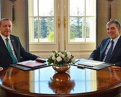 Gül ve Erdoğan Bu Kez Yemekte Buluştu