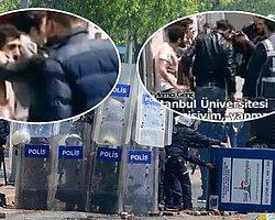 Skandal 1 Mayıs Görüntüleri: Polis Bir Gence Zorla Puşi Takıp Fişliyor