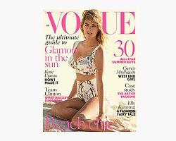 Kate Upton Vogue Kapağında