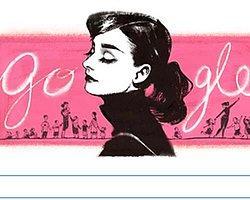 Google'dan Audrey Hepburn Doodle'ı!