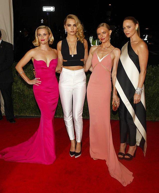 Reese Witherspoon, Cara Delevingne, Kate Bosworth ve Stella McCartne