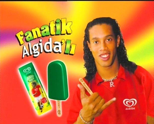 Ronaldinho Algida'sı