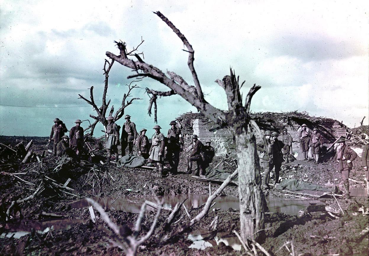 Hiç Görmediğiniz 37 Etkileyici HD Fotoğraf ile 1. Dünya Savaşı