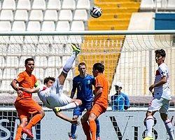 Türkiye U17, Hollanda'yı Deviremedi