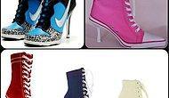 Göreni Şaşırtan Topuklu Spor Ayakkabılar