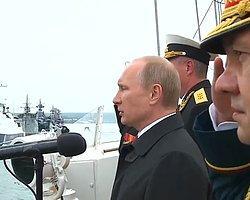 Putin İlk Kez Kırım'da