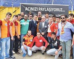 Galatasaray'dan Soma'ya Yardım