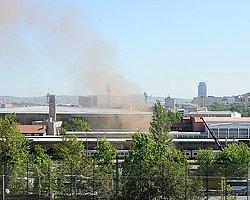 Ankara'da Doğalgaz Borusunda Patlama