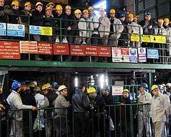 İş Bırakan Madencilerin Yevmiye Tepkisi