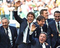 Conte Juve'de Kalıyor