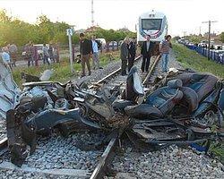 Konya'da Tren Faciası: 2 Ölü