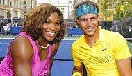Rafa ve Serena yine zirvede