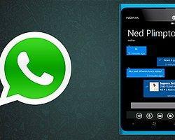WhatsApp Çok Yakında Onarılmış Hali İle Windows Phone Mağazasında Olacak