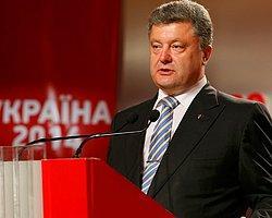 Ukrayna'da Açık Ara Poroşenko
