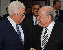 FIFA Başkanı Blatter, Filistin'de