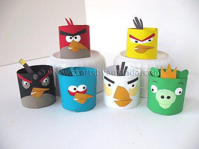 5. Karton Angry Birds Figürleri