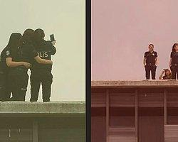 Polislerden AKM ve Gezi Selfie'si