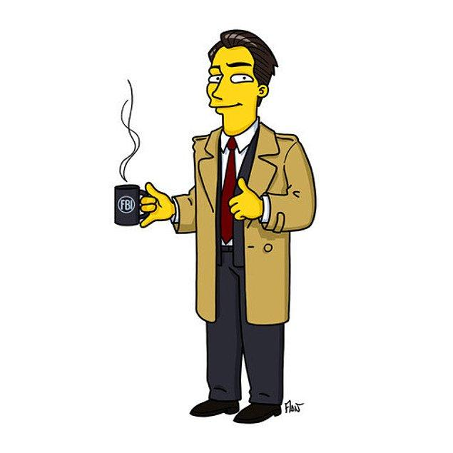 9. Twin Peaks dizisinden FBI Özel Ajanı Dale Cooper