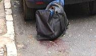 Beyoğlu'nda Yoldaki Çantadan Ceset Çıktı