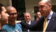 Alex de Souza ile Başbakan Erdoğan'ın Sürpriz Karşılaşması