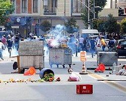 İstanbul'daki Lice Protestosunda Olaylar Çıktı