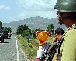 'Lice'de Askerlerin Silahları İncelenmeye Alındı'