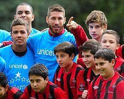 Sergio Ramos, UNICEF'in Yeni Elçisi Oldu