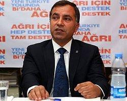 AK Parti Ağrı İl Yönetimi İstifa Etti