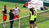 Federer Çiftlerde De Finalde!