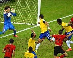 Brezilya Duvara Çarptı!