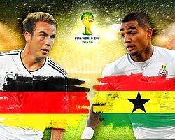 Almanya - Gana Maç Önü