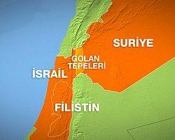 Golan'da Patlama: 1 Ölü