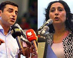 HDP Eş Genel Başkanlıklarına Demirtaş İle Yüksekdağ Seçildi