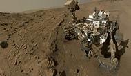 İlk Mars Yılını Selfie Çekerek Kutladı