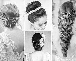 Stil sahibi gelinler için 2014 yazının en trend gelin saçı modelleri