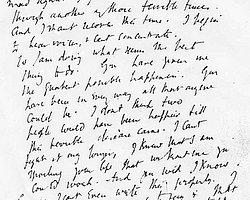 Virginia Woolf'un son mektubu