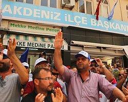 Şişecam İşçileri, AKP Binası Önünde Eylem Yaptı
