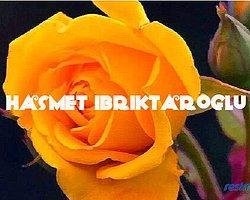 Sözlüğün Değerli Üyesi : Hasmet İbriktaroglu