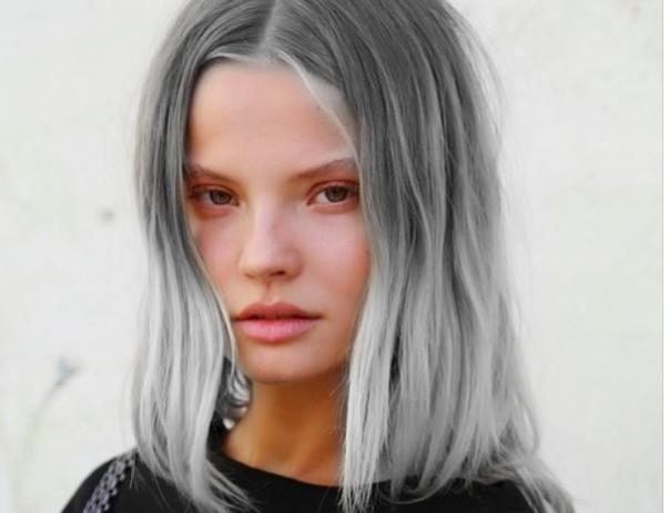 Saçlarınızı Griye Boyar Mısınız Bu 22 Fotoğraf Fikrinizi