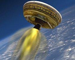 NASA 'Uçan Dairesini' Denedi