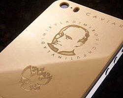 4 Bin 300 Dolara Putin Portreli Altın iPhone!