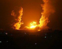 İsrail Gazze'yi Vurdu