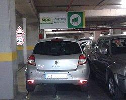Araç sığabileceği her yere park edilebilir!