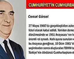 26 Ekim 1961: Cemal Gürsel'in Seçilmesi