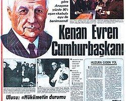 7 Kasım 1982: Kenan Evren